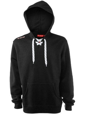 CCM Team Fleece Hockey Lace Hoodie Senior