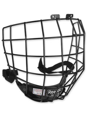 Reebok 5K Black Hockey Helmet Cages Sr