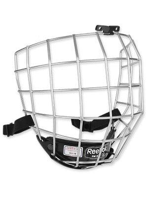 Reebok 5K Silver Hockey Helmet Cages Sr