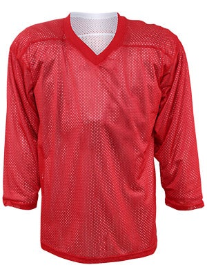 Fulton Reversible Hockey Jersey Red/White Sr