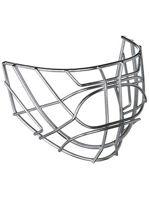 CCM Pro Certified Cat Eye Goalie Cages Chrome
