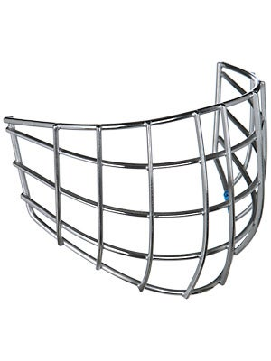 CCM Pro Straight Bar Goalie Cages Chrome