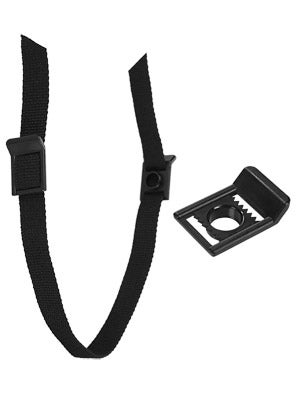 Hockey Helmet Chin Straps w/Double Snap
