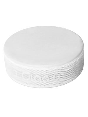 Sherwood Ice Hockey Goalie Trainer Puck  6 oz White