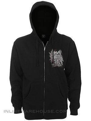 I Win Membership Save 10% Blocked Logo Zip Hood