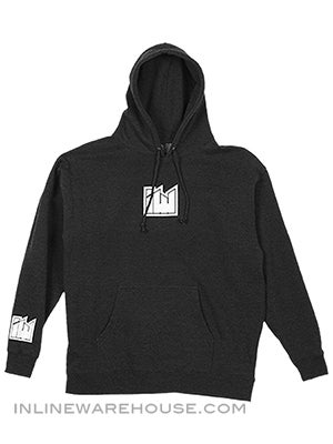 Inline Warehouse Block Logo Hoodie Sweatshirts