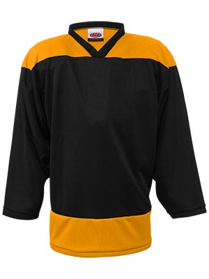 K1 2100 Goalie Hockey Jersey Black & Gold Sr