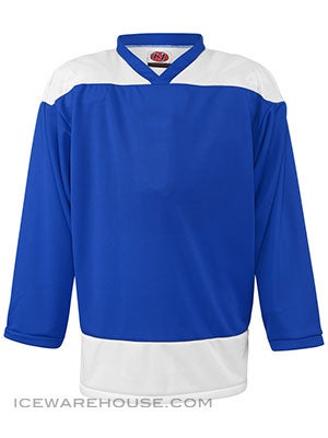 K1 2100 Goalie Hockey Jersey Royal & White Sr