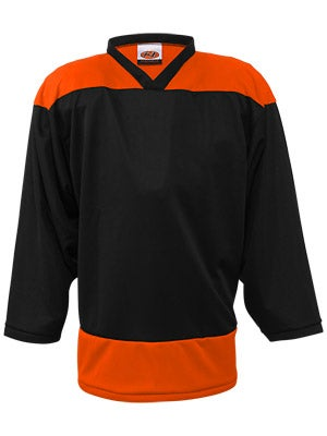 K1 2100 Player Hockey Jersey Black & Orange Sr XL