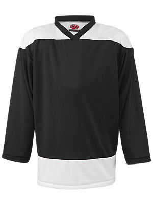 K1 2100 Player Hockey Jersey Black & White Jr