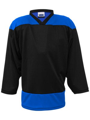 K1 2100 Player Hockey Jersey Black & Royal Jr
