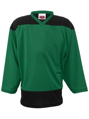 K1 2100 Player Hockey Jersey Kelly Green & Black Sr M
