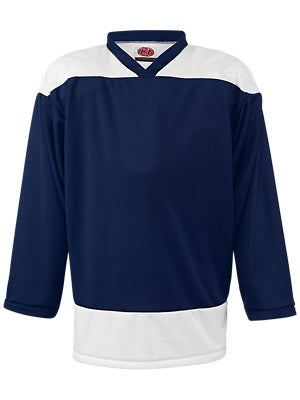 K1 2100 Player Hockey Jersey Navy & White Sr Small