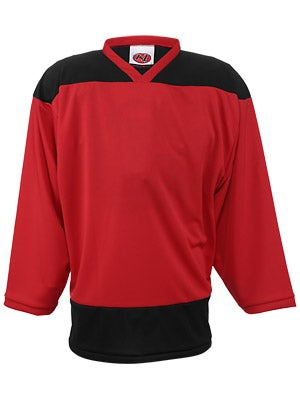 K1 2100 Player Hockey Jersey Red & Black Sr XL