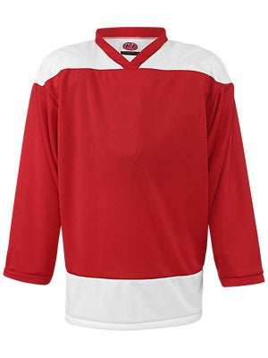 K1 2100 Player Hockey Jersey Red & White Jr