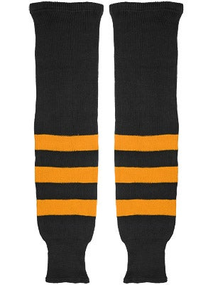 K1 Black & Gold Ice Hockey Socks Sr