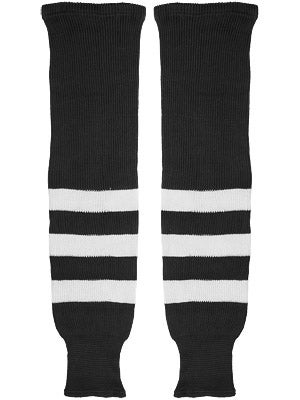 K1 Black & White Ice Hockey Socks Sr