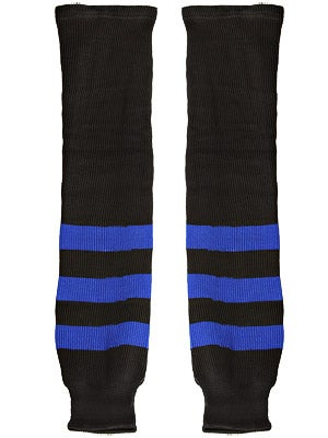 K1 Black & Royal Ice Hockey Socks Sr