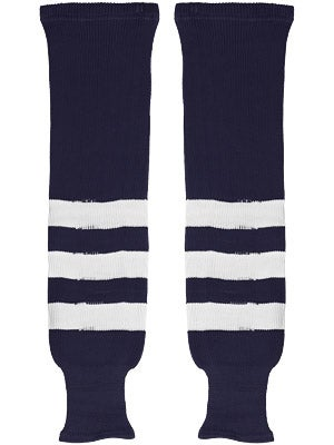 K1 Navy & White Ice Hockey Socks Jr