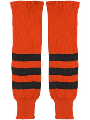 K1 Orange & Black Ice Hockey Socks Jr