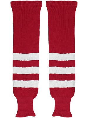 K1 Red & White Ice Hockey Socks Sr