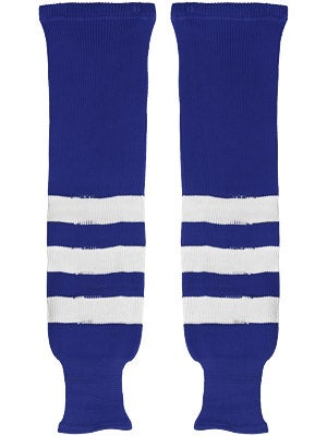 K1 Royal & White Ice Hockey Socks Jr