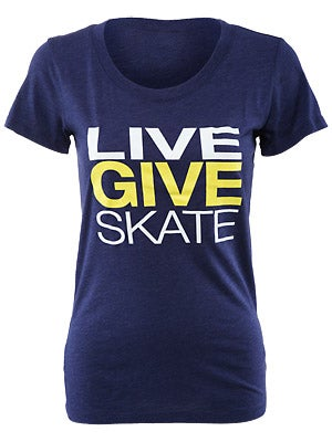 Live Give Skate Women's Shirt