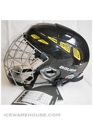 Bauer IMS 7.0 Helmet w/Cage Blk/Yel LG LIQUIDATION