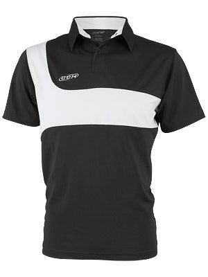 CCM Team Knit Jersey Polo Sr