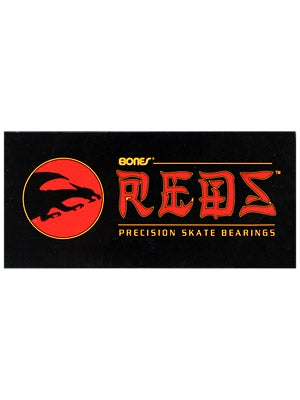 Bones Reds by Powell 608 Bearings  16 Pack