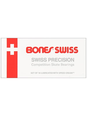 Bones Swiss Inline Skate Bearings 608  16 Pack