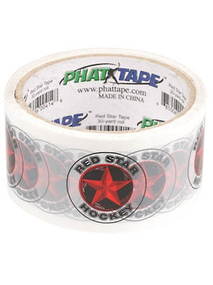 Red Star Phat Hockey Shin Guard Tape 2 in x 30 yds