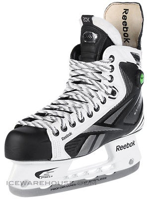 Reebok 20K White Pump Ice Hockey Skates Sr