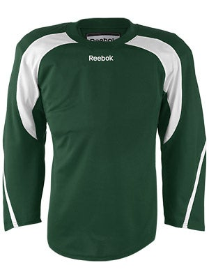 Reebok Edge Hockey Jersey Dark Green & White Jr