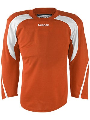 Reebok Edge Hockey Jersey Orange & White Jr