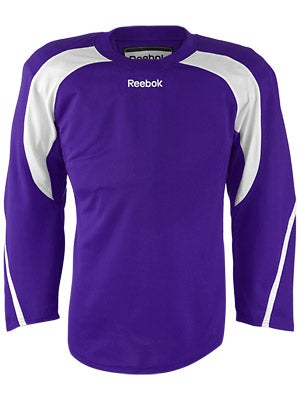 Reebok Edge Hockey Jersey Purple & White Sr