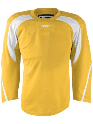 Reebok Edge Hockey Jersey Sunflower & White Sr