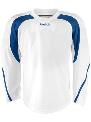 Reebok Edge Hockey Jersey White & Royal Sr
