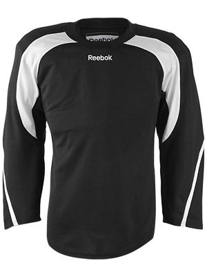 Reebok Edge Hockey Jersey Black & White Jr