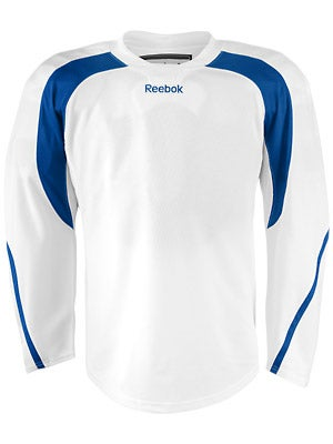 Reebok Edge Hockey Jersey White & Royal Jr