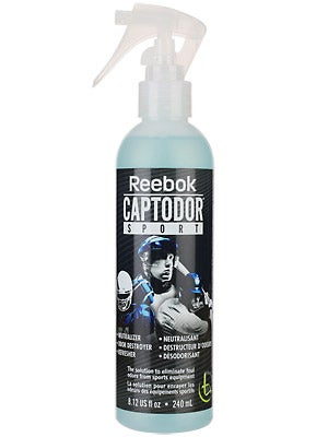 Reebok Captodor Odor Eliminator Spray 8.12 oz