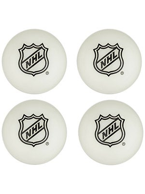Franklin Glow in the Dark Mini Hockey Balls 4-Pack