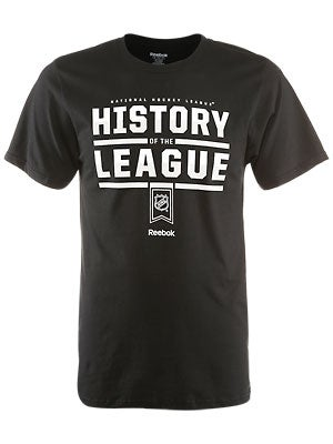 Reebok NHL History of the League Shirt Sr LARGE