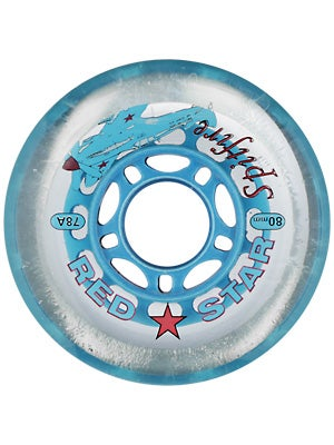 Red Star Spitfire Hockey Wheels