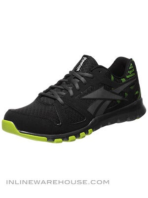 Reebok Sublite Train 1.0 Shoes Blk/Gusto Green