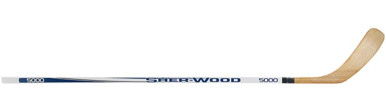 Sherwood 5000 Wood Hockey Sticks Yth