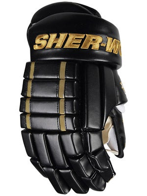 Sherwood 5030 4 Roll Hockey Gloves Sr Blk