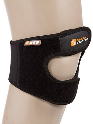 Shock Doctor Knee/Patella Support Wrap w/Dual Straps