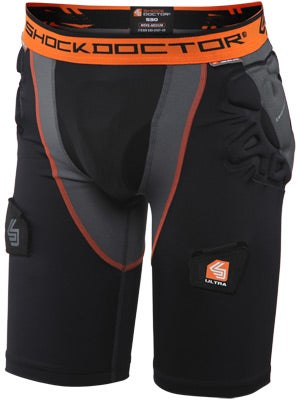 Shock Doc Ultra Shockskin Comp Hockey Jock Short Jr