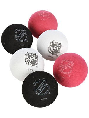 Sherwood NHL Knee Hockey Mini Foam Balls 6-Pack